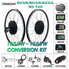 Conversion-Kit Hub-Motor 700c-Wheel BLDC Electric-Bicycle E-Bike Front SOMEDAY 1000W/1500W