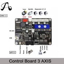 Cnc-Router-Machine Controller-Card GRBL 3-Axis DIY Usb-Port