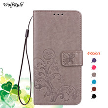 For OPPO A5 2020 Case OPPO A9 2020 Bumper Flip PU Card Holder Wallet P