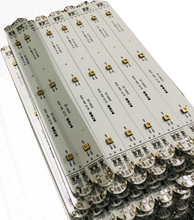 50PCS OF STRIPS 275nm UVC LED Strips 3pcs of UVA+UVC LEDs on 1 Strip with a Length of 15cm