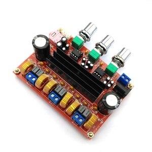 Image 3 - Placa amplificadora Digital para Subwoofer, TPA3116D2 50Wx2 + 100W, 2,1 canales, 12V 24V, Powe