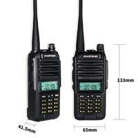 """מכשיר הקשר 2020 Baofeng A58S Tri-Band 8W מכשיר הקשר 3800mAh נייד CB Ham Radio 10 ק""""מ FM משדר לשדרג UV-82hp שני הדרך רדיו UV82 (5)"""