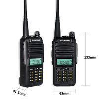 "baofeng uv 2020 Baofeng A58S Tri-Band 8W מכשיר הקשר 3800mAh נייד CB Ham Radio 10 ק""מ FM משדר לשדרג UV-82hp שני הדרך רדיו UV82 (5)"