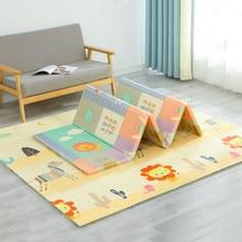 XPE – tapis de jeu Double Surface pour bébé, tapis de développement pour enfants, pour activités de pépinière