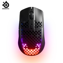 Steelseries Aerox3 Wireless hole mouse Rechargeable 2.4G Bluetooth 5.0 Gaming Mouse