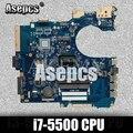 Asepcs Motherboard For ASUS P552LA GM i7-5500 cpu P552 P552L P552LA P552LJ Notebook notebook motherboard mainboard