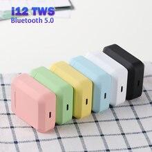 I12 original tws bluetooth fone de ouvido i2 fones de som estéreo sem fio com caixa carregamento para todos os smartphones