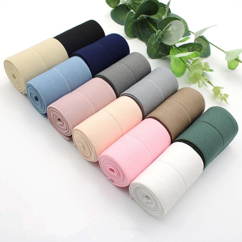 Frcolor 25 St/ück Band elastisch Foldover Gummib/änder Stretch Haar Krawatten Stirnb/änder