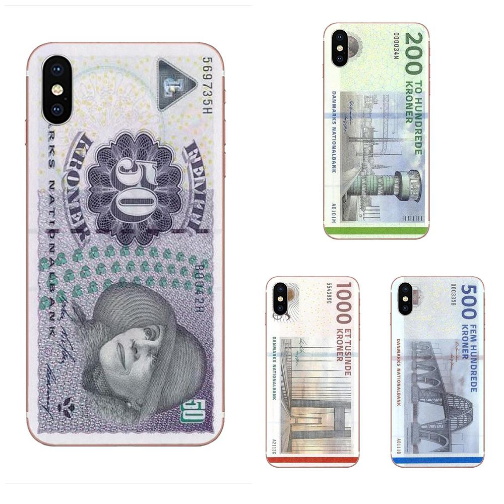 Danmark Danish Krone Rubber Soft Phone Case For HTC Desire 530 626 628 630 816 820 830 One A9 M7 M8 M9 M10 E9 U11 U12 Life Plus