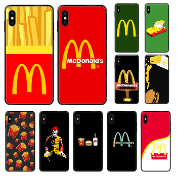 MetroCard McDonald's Hamburg Phone case For iphone 4 4s 5 5S SE 5C 6 6S 7 8 plus X XS XR 11 PRO MAX 2020 black trend hoesjes image