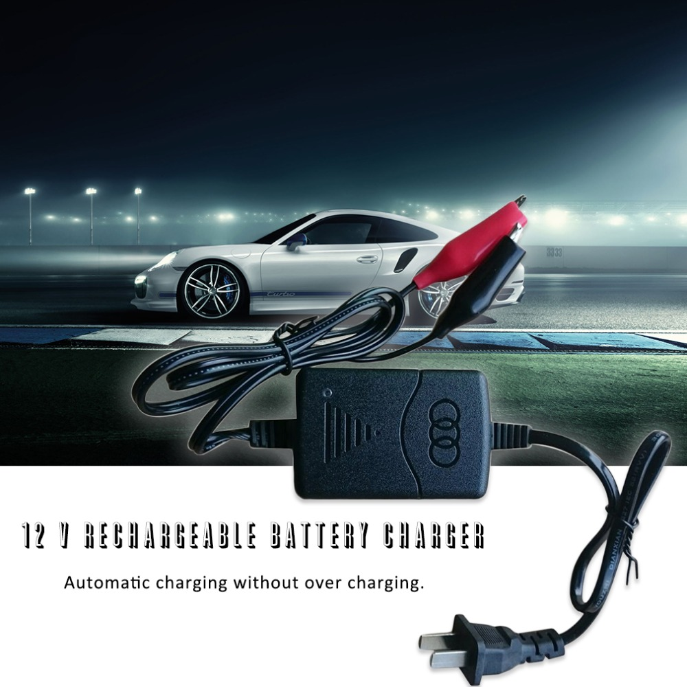 2018 автоматическая защита от коротких замыканий, 12 В 1300ма, герметичное, свинцово-Кислотное, автоматическое зарядное устройство для автомоби...