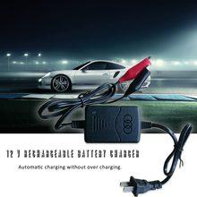 2018 Auto zabezpieczenie przed zwarciem 12 V 1300mA uszczelniony kwasowo-ołowiowy akumulator automatyczna ładowarka na samochód ciężarowy motocykl