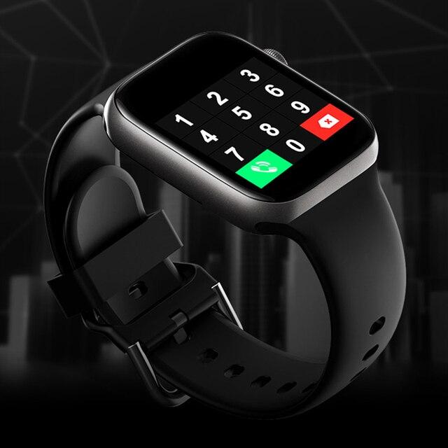 T500 Smart Watch Bluetooth Call Fitness Tracker Heart Rate Full Touch Smartwatch Men & Women Music Control Sport Watch IWO 3