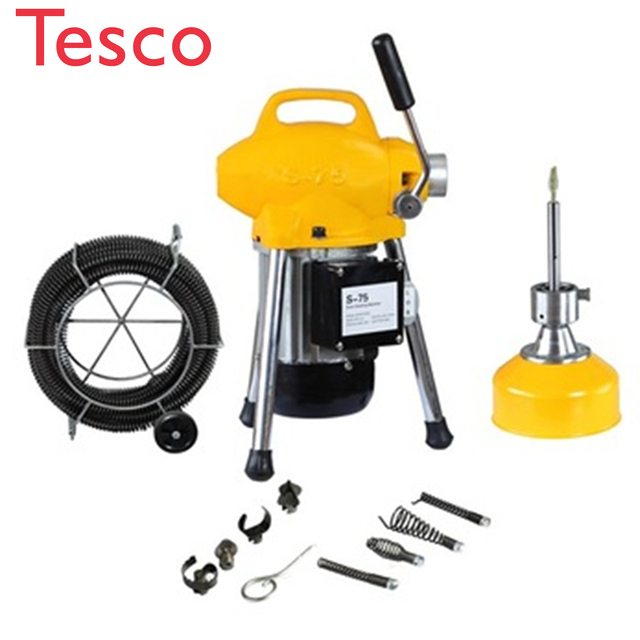Plumbing Tools Pipe Cleaning Sectional Machine To Unclog Drain