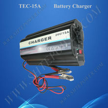 Car Battery Charger 220V/230V/240V DC to AC 24V Charger For Batery 15A three stage charging ce rohs battery 24v 15a ac to dc charger