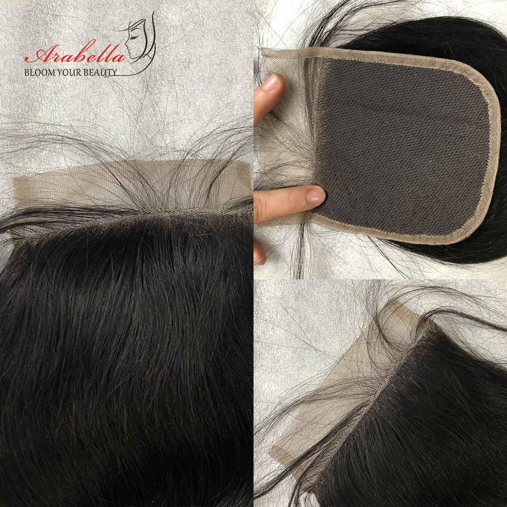Body Wave Closure  Lace Closure With Baby Hair 4x4 Lace Closure  Arabella Transparent Lace Closure 4