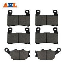 AHL Motorcycle Front and Rear Brake Pads For Honda CBR 600 F4 F4i CBR929 CBR954 FIREBLADE CBR900 RR VTR 1000 SP-1 (SP45) CB1300
