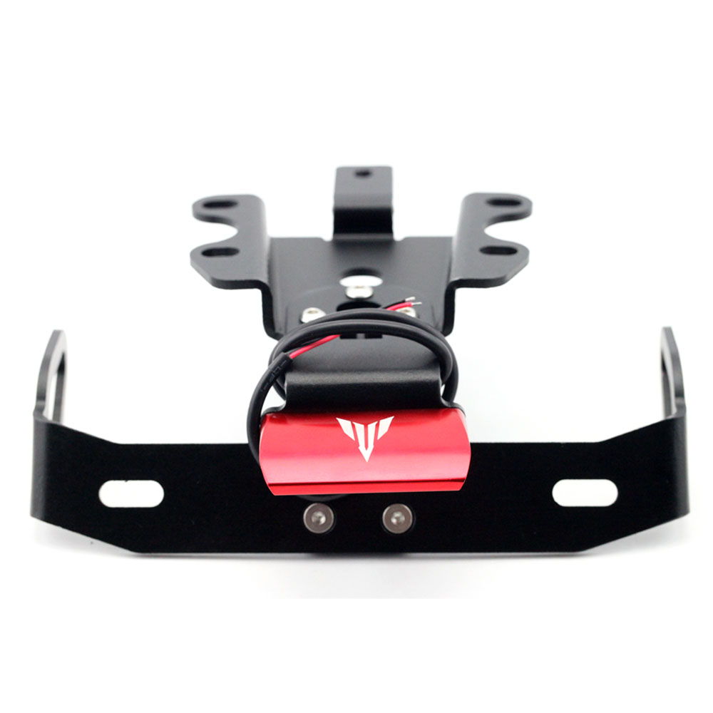 Image 5 - License Plate Bracket Holder Mount Fender Eliminator Tail Tidy For YAMAHA MT07 FZ07 MT 07 FZ 07 2014 2015 2016 2017 2018-in Covers & Ornamental Mouldings from Automobiles & Motorcycles