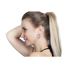2019 newWomen's fashion small stone micro-inlay earrings Zircon earrings Exaggerated earringsOpen popular jewelryPendant earring