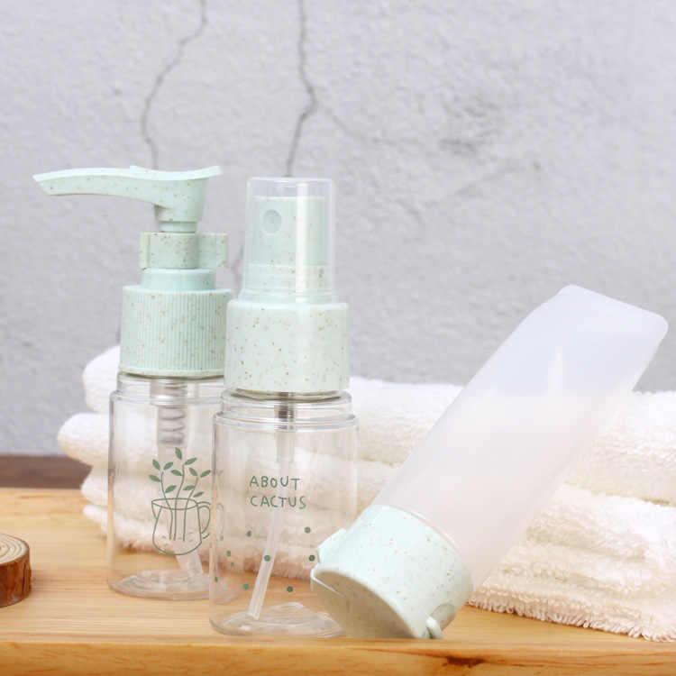 Butelka z rozpylaczem trzyczęściowy zestaw dla zwierząt domowych Push podróży do butelkowania zestaw emulsji kosmetyki butelka z rozpylaczem producentów hurtowych