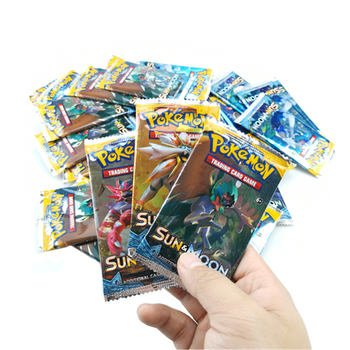 324pcs Pokemon cards TCG: Sun & Moon Edition 36 Packs Per Box Cards Game Battle classeur carte pokemon Child Toy 2