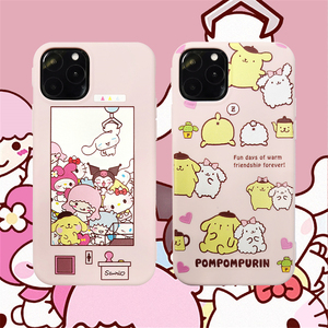 Sanrio Collection Pom Pom Purin Cinnamoroll soft TPU phone case for iphone 11Pro MAX 6 6s Plus 7 8 plus X XR XS MAX Anime cover(China)