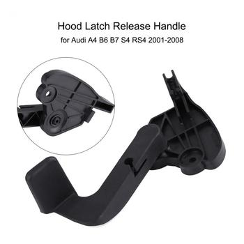 Car Hood Bonnet Release Lever Latch Handle for Audi A4 B6 B7 S4 RS4 2001-2008 8E1 823 533 B Car Accessories tanie i dobre opinie ABS Plastic Silnik czepki Hood Release Lever Hood Latch Release Handle 2001 2002 2003 2004 2005 2006 2007 2008
