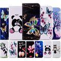 Чехол для телефона Samsung Galaxy S10 S10E S9 S8 S7 Edge j2 Pro A6 A7 A8 J4 J6 Plus 2018  Кожаные чехлы  бумажник  чехол D07G