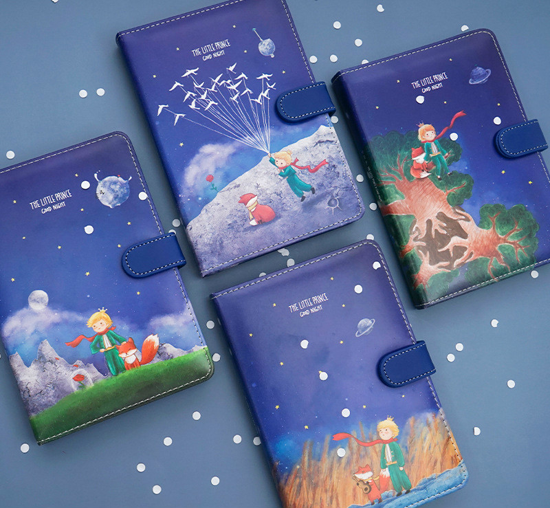 Colorful Cartoon Design Soft PU Cover Diary Book 130 Sheets DIY 2020 Planner Journal Gift