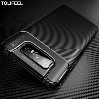 Funda de teléfono para Asus Zenfone 7 ZS670KS Pro ZS671KS, funda de silicona suave con textura de fibra de carbono a prueba de golpes para Asus Rog 5