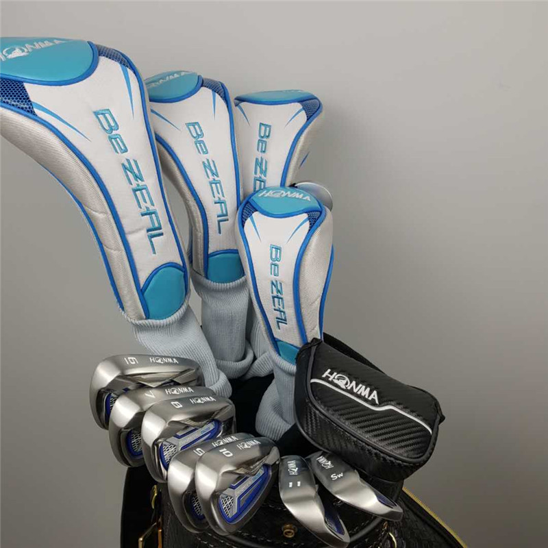 2020 Women Golf clubs set HONMA Golf Club HONMA BEZEAL 525 Golf Complete Set with wood putter Head Cover (No Bag) Free Shipping 6