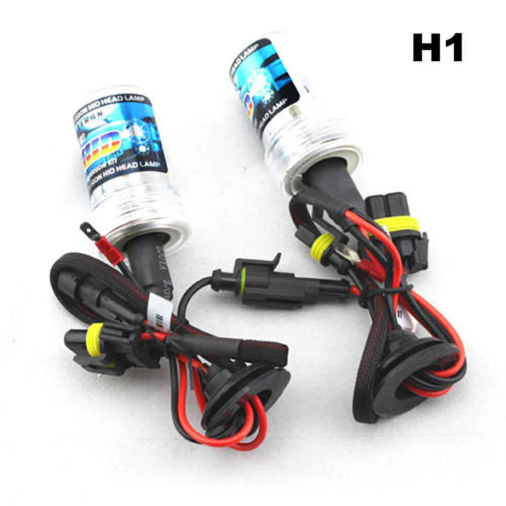 2 PCS HID <font><b>Xenon</b></font> <font><b>Lamp</b></font> <font><b>H1</b></font> H3 H7 H11 <font><b>Xenon</b></font> Headlamp Auto Car Accessories Headlight Night Light For Cars 35W 12V 6000K Waterproof image