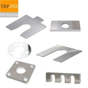 Image 4 - 사용자 정의 제품 링크, 황동 및 스테인레스 스틸 열쇠 고리, 레이저 정밀 절단, 벤드 판금 CNC 가공