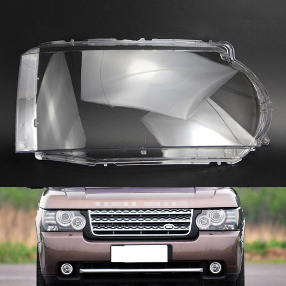 Car Headlight Lens For Land Rover Range Rover 2010 2011 2012 2013  Car Headlamp Lens Replacement   Auto Shell