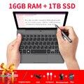 GPD P2 Max Tragbare Ultrabook mini pc notebook laptop 8 9 zoll Intel m3 8100Y Touchscreen WIN10 16GB RAM 1TB ROM WIN10 systerm-in Laptops aus Computer und Büro bei