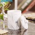 JINSERTA мраморная смола коробка для хранения 2 Балки ватные палочки Органайзер баночка для зубочисток роскошный дом гостиная отель Декор коро...