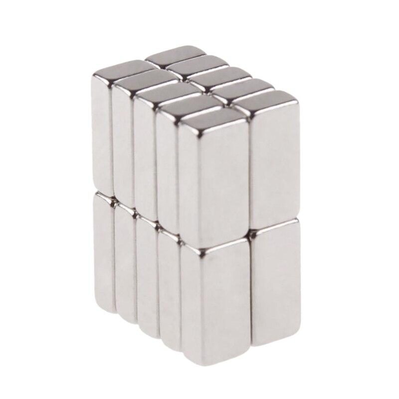 20 шт. 10 мм x 5 мм x 3 мм неодимовый блок магнит супер сильные магниты Ремесло N42 редкоземельный магнит магниты на холодильник