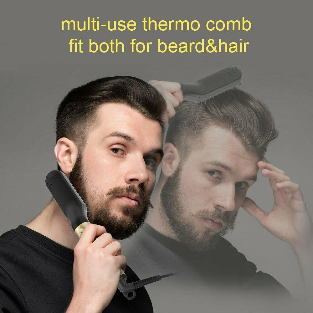 Beard Straightener Brush 10