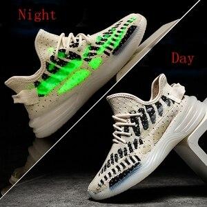Image 2 - Baskets tendance pour Homme, chaussures de sport Design de marque printemps et automne chaussures décontractées pour adultes