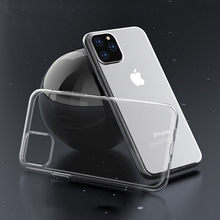 Clear Soft Silicone Phone Case Cover Fundas Coque For iphone 11 Pro 6 S 7 8 Plus 6S 6Plus 8 8Plus 5S SE X XR XS Max Transparent(China)