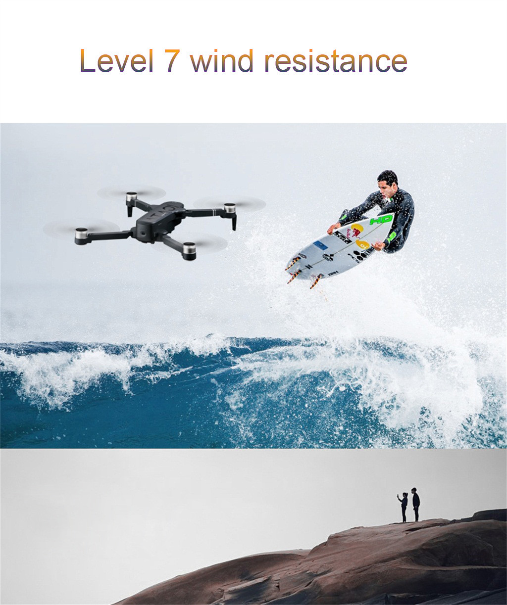 SMRC ICAT6 Drone GPS 5G WIFI FPV 4K Camera Brushless Selfie Foldable RC Drone Quadcopter RC Helicopter Selfie Drone with Camera
