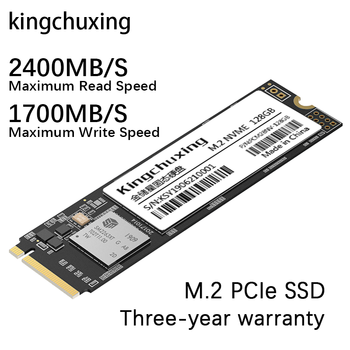 M2 SSD M.2 NVME PCIe x 4 واجهة 1 تيرا بايت 1T 512GB 256GB 128GB محرك أقراص الحالة الصلبة الداخلية قرص صلب HDD كمبيوتر محمول Kingchuxing
