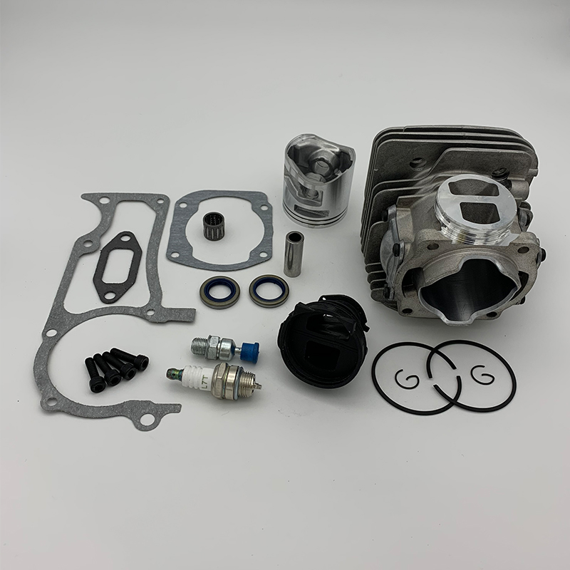 50mm nikasil cilindro pistão spark plug entrada