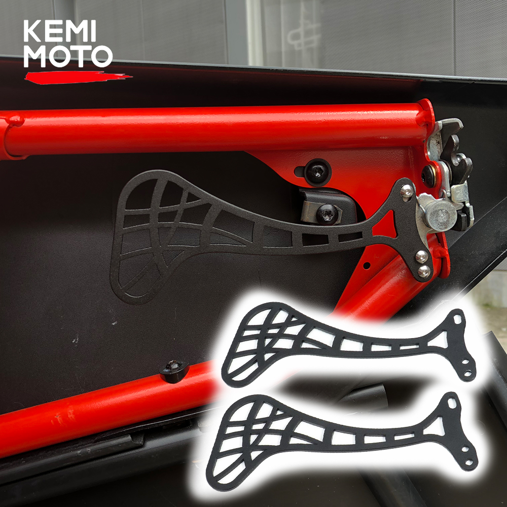 KEMIMOTO UTV Easy Grip Aluminum Door Latche Handle Switch For Can Am Maverick X3 Max X DS RS Turbo R For Can-Am 900 HO 2017-2019