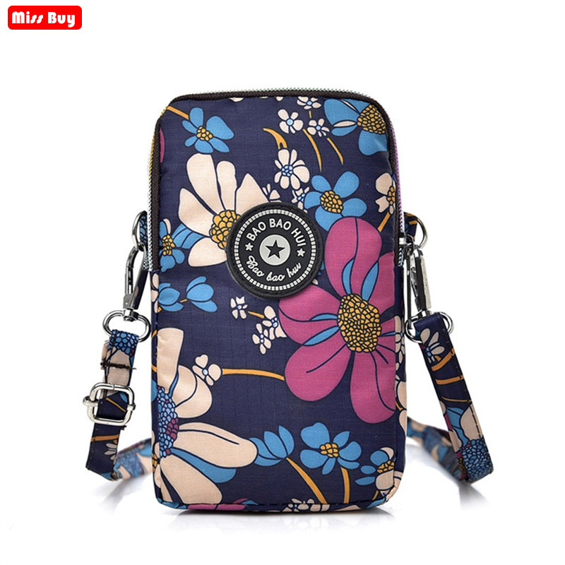 Universal Cell Phone Bag For Samsung/iPhone/Huawei/Xiaomi Wallet Case Outdoor Arm Shoulder Bags Mobile Phone Pouch Pocket Clutch