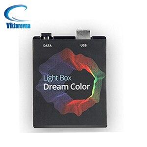 5v diy controlador tv usb fita hdtv computador monitor backlight pc sonho tela cor caixa de luz para 5050 endereçável led strip