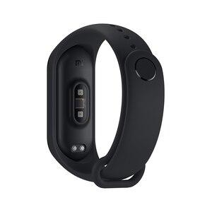 Image 5 - Оригинальный Xiaomi Mi Band 4 глобальная Версия смарт Браслет фитнес браслет Miband Band 4 пульсометр 3 цвета экран Smartband