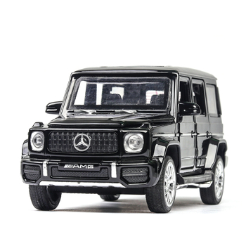 Diecast 1:32 Alloy Pull Back Model Car Model Toy Sound Light Pull Back Toy Car For G63 Toys For Boys Children Gift car toys high simulation 2pcs 4pcs 8pcs 24pcs set alloy pull back model car mini alloy pull back toy car parent child toy for boys gift