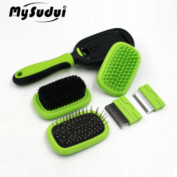 5 In 1 Grooming Dog Comb Set