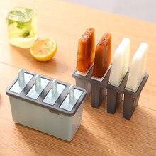 цена на Creative Household Frozen Ice Cream Mould Ice Lattice Ice Bar Ice Box Ice Cream Popsicle Ice Mould Box Set
